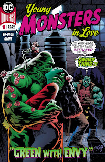 Young Monsters In Love #1 cover from DC Comics