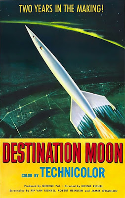 Poster - Destination Moon (1950)