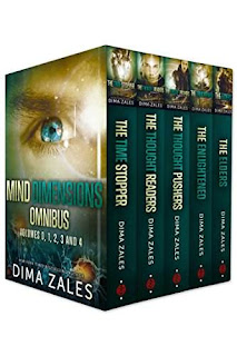 Mind Dimensions Omnibus - thrilling urban fantasy discount book promotion Dima Zales