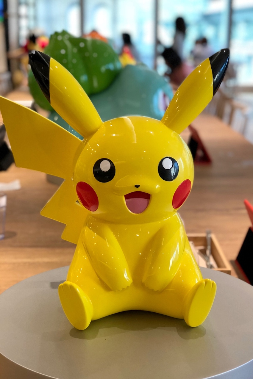 Pokemon Cafe Pikachu