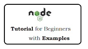 Node js tutorial for beginners with examples