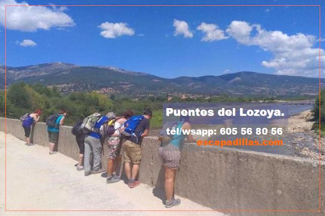 Puentes Romanos del Lozoya con - escapadillas.com