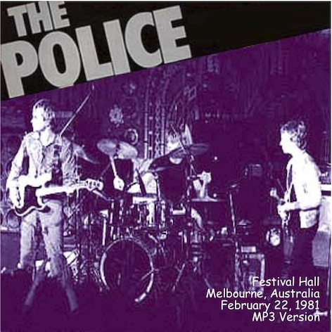 Rock On Vinyl The Police Wallaby Live In Melbourne