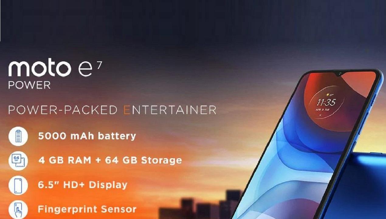 Moto E7 Power
