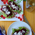 Open-faced Shaved Beet Sandwiches