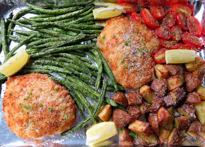 Crispy Sheet Pan Chicken Milanese