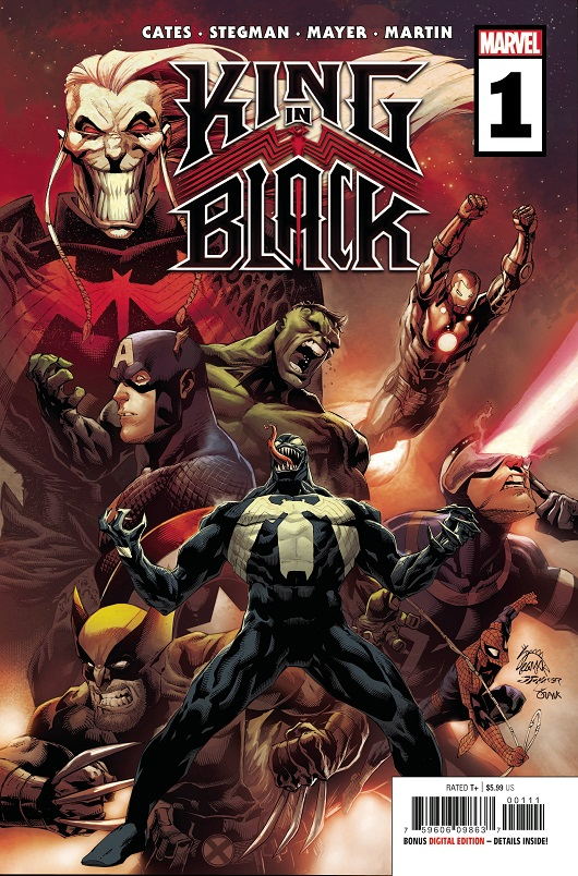 Cover of King in Black #1