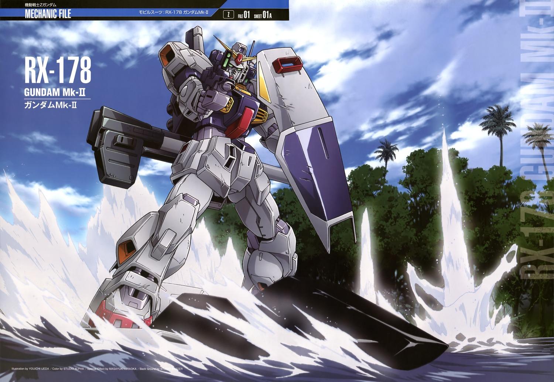 GUNDAM GUY: Mobile Suit Gundam Mechanic File - Wallpaper ...