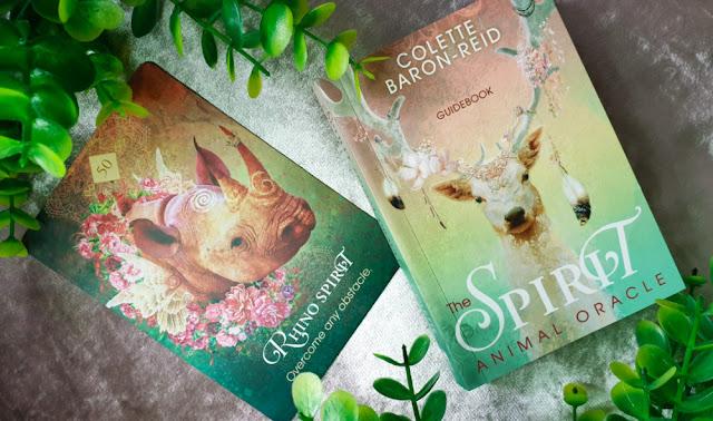 The Spirit Animal Oracle - Rhino Spirit card