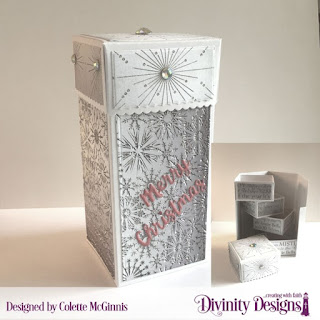 Custom Dies: Treat Tower, Holiday Word  Paper Collection: Winter 2014