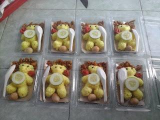 pesanan nasi kuning