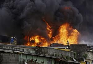 Police Man dies at Balogun market Fire incidence