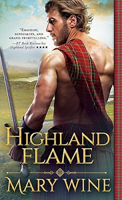 Book Review: Highland Flame, by Mary Wine, 4 stars