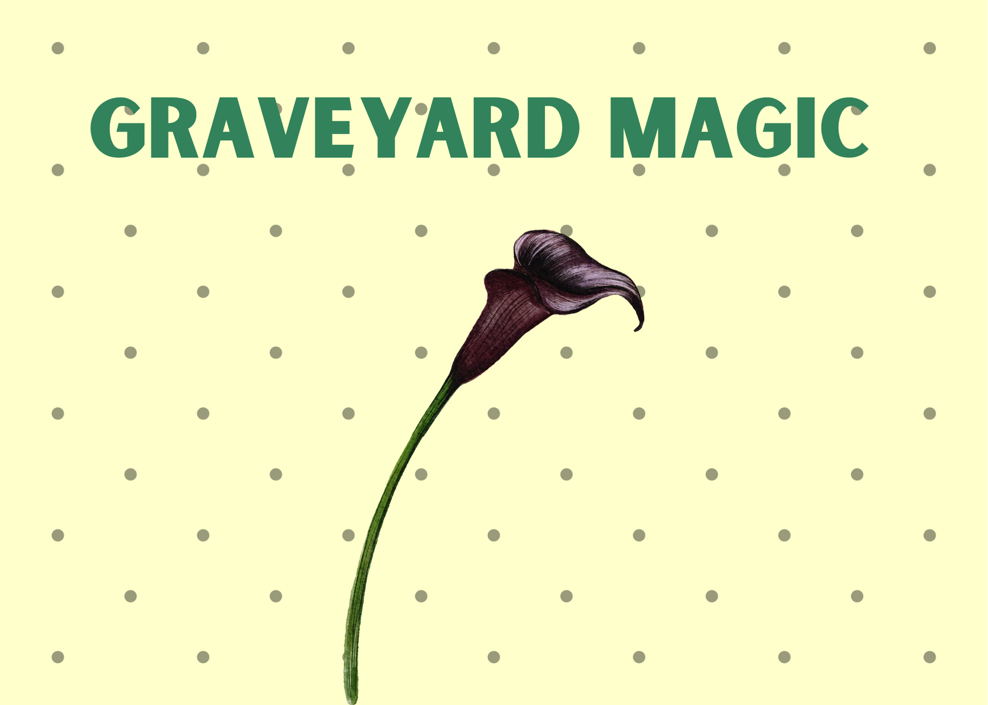 Graveyard Dirt, Graveyard Spells, Graveyard magic, graveyard goddesses, spirit work, ghosts, ancestors