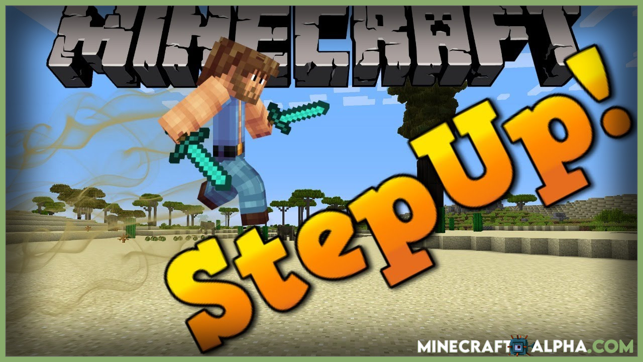 Minecraft StepUp Mod 1.17.1 (Fantastic Mobility)