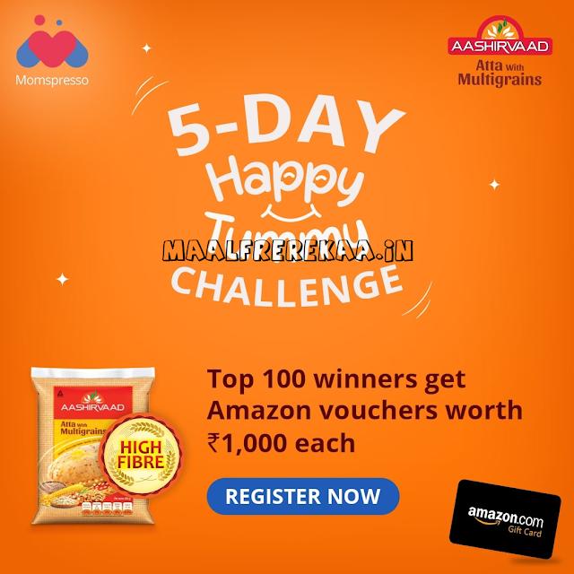 5 Day Tummy Challenge Win Prizes