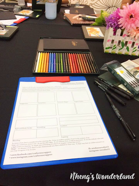 The Crafters Marketplace: Creative Doodling & Basic Coloring Workshop