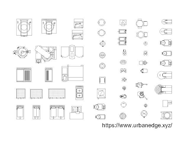 Restaurant Equipment cad blocks