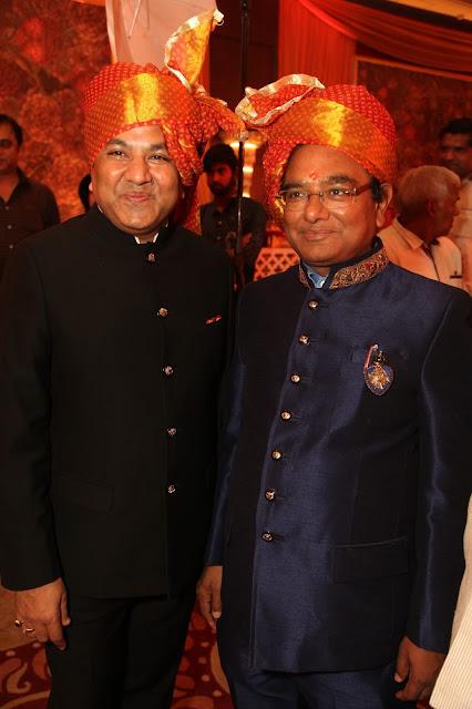 Dinesh Gupta with Mukesh Gupta