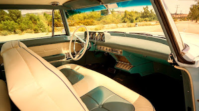 1956 Continental Mark II Luxury Coupe Interior Dashboard