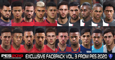 PES 2019 Exclusive Facepack Vol. 3 by Sofyan Andri