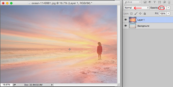 how to make a sky bigger in photoshop