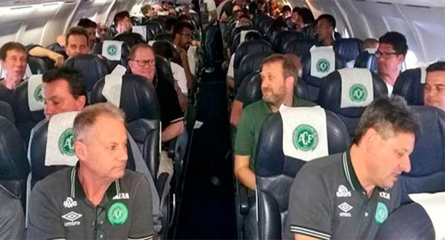 Se estrella en Colombia el avión de un equipo brasileño de fútbol