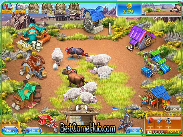 Farm Frenzy 3 American Pie High Compressed PC Game Free Download