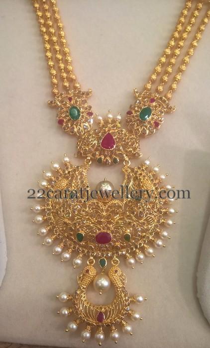 2 Step Uncut Diamond Pendant Jewellery Designs