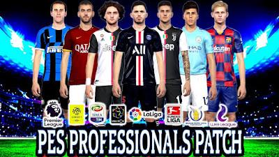 PES 2019 PES Professionals 2019 2.1 DLC 6.0 Update Brasileiro 2019/2020