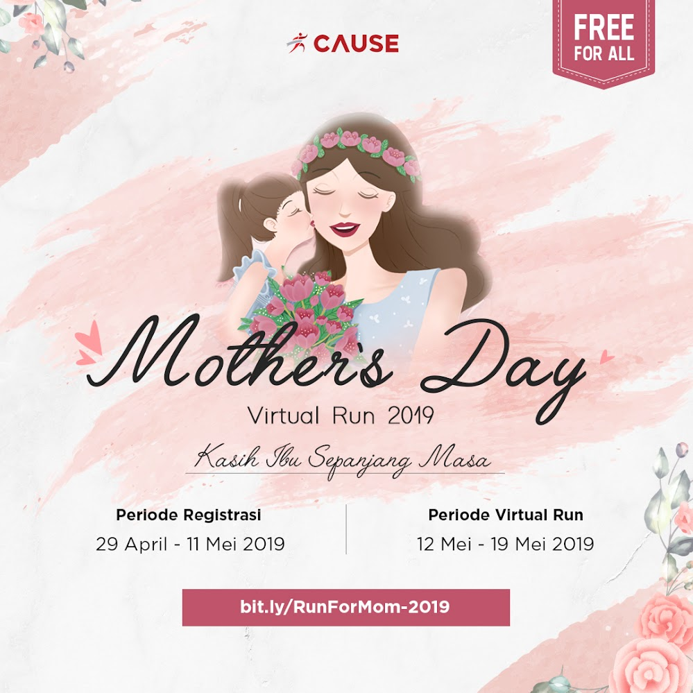 Mother's Day Virtual Run • 2019