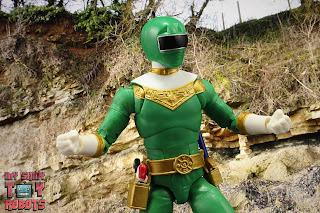 Power Rangers Lightning Collection Zeo Green Ranger 11