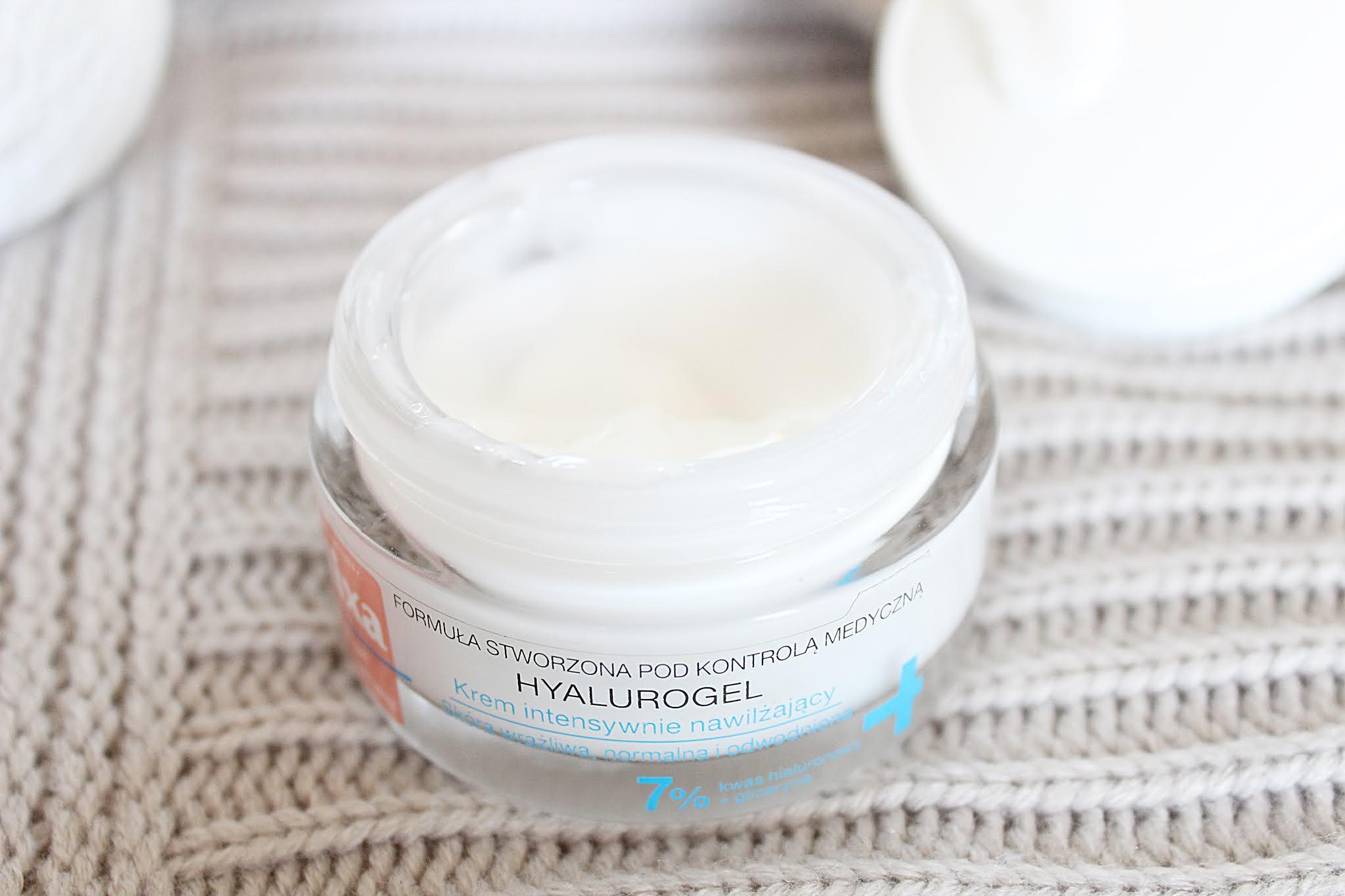 Mixa Hyalurogel, Krem intensywnie nawilżający dla skóry wrażliwej, normalnej i odwodnionej - działa czy może jednak nie?