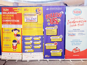 Billboard Rangkaian Acara Erlangga Talent Week 2019