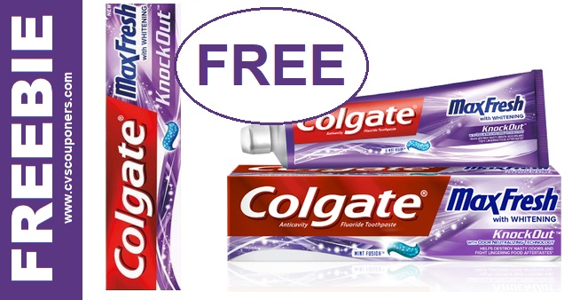 CVS Couponers FREE Colgate Deal 10-13-10-19