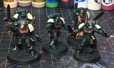 40K Blades of Vengeance Lieutenants WIP