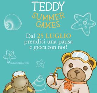 Logo In arrivo il Teddy Summer Games