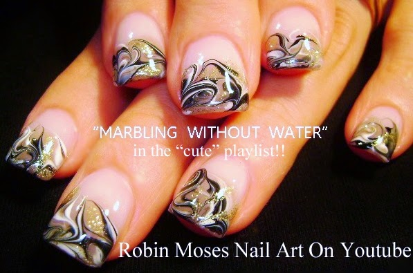 Youtube Marble Nails Tutorial Hireability