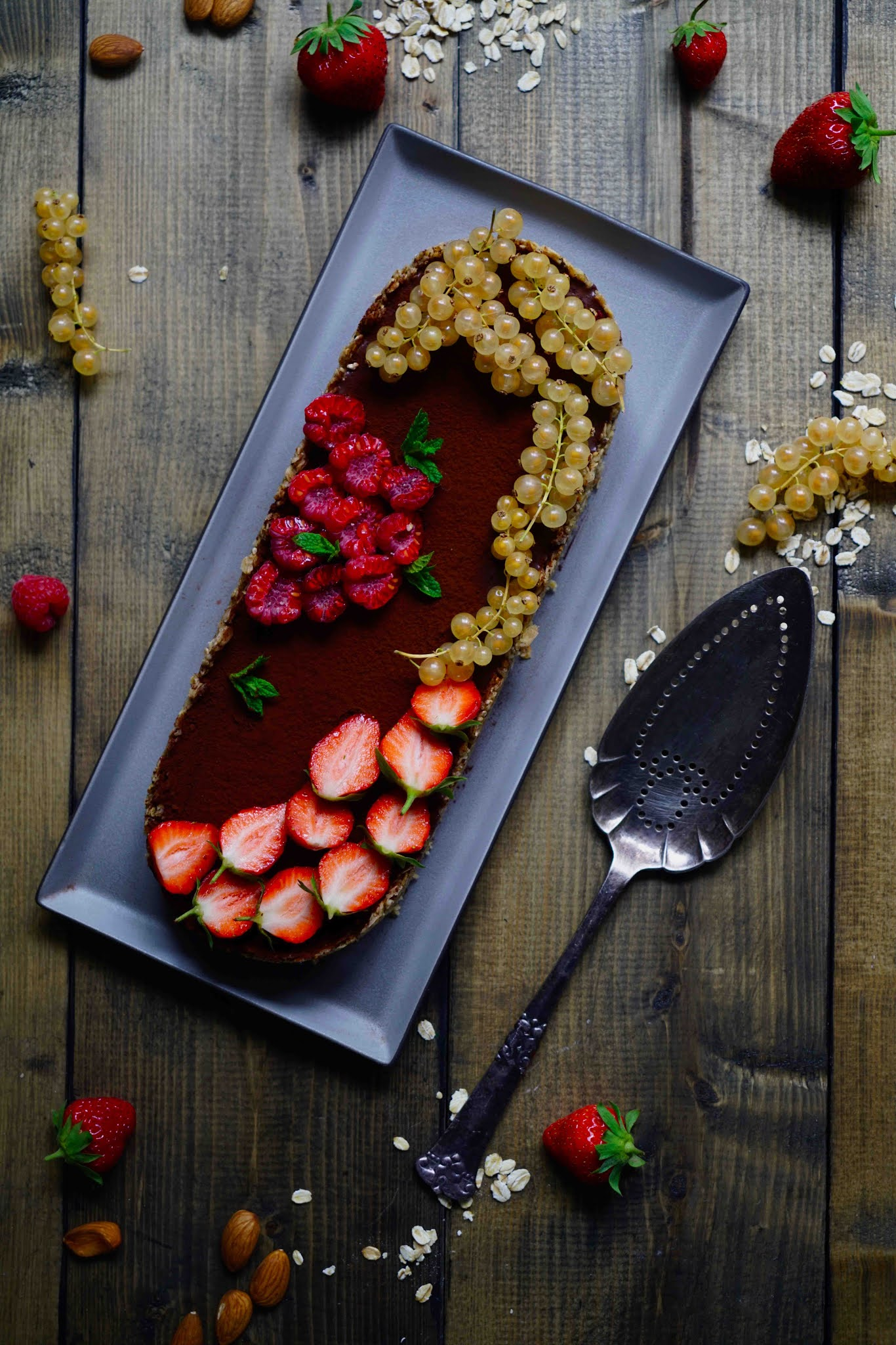 tarte ganache chocolat sans cuisson