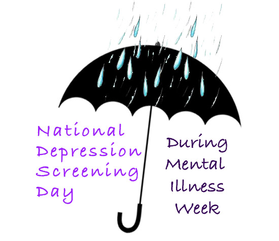 National Depression Screening Day Wishes Images download