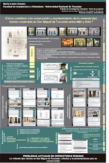 Problemas actuales y estructuras pasadas - La vivienda tipo chorizo en San Miguel de Tucumán - Criterios y recomendaciones para su conservación