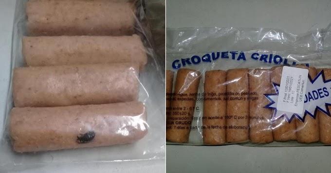 El gobierno de Cuba vende croquetas