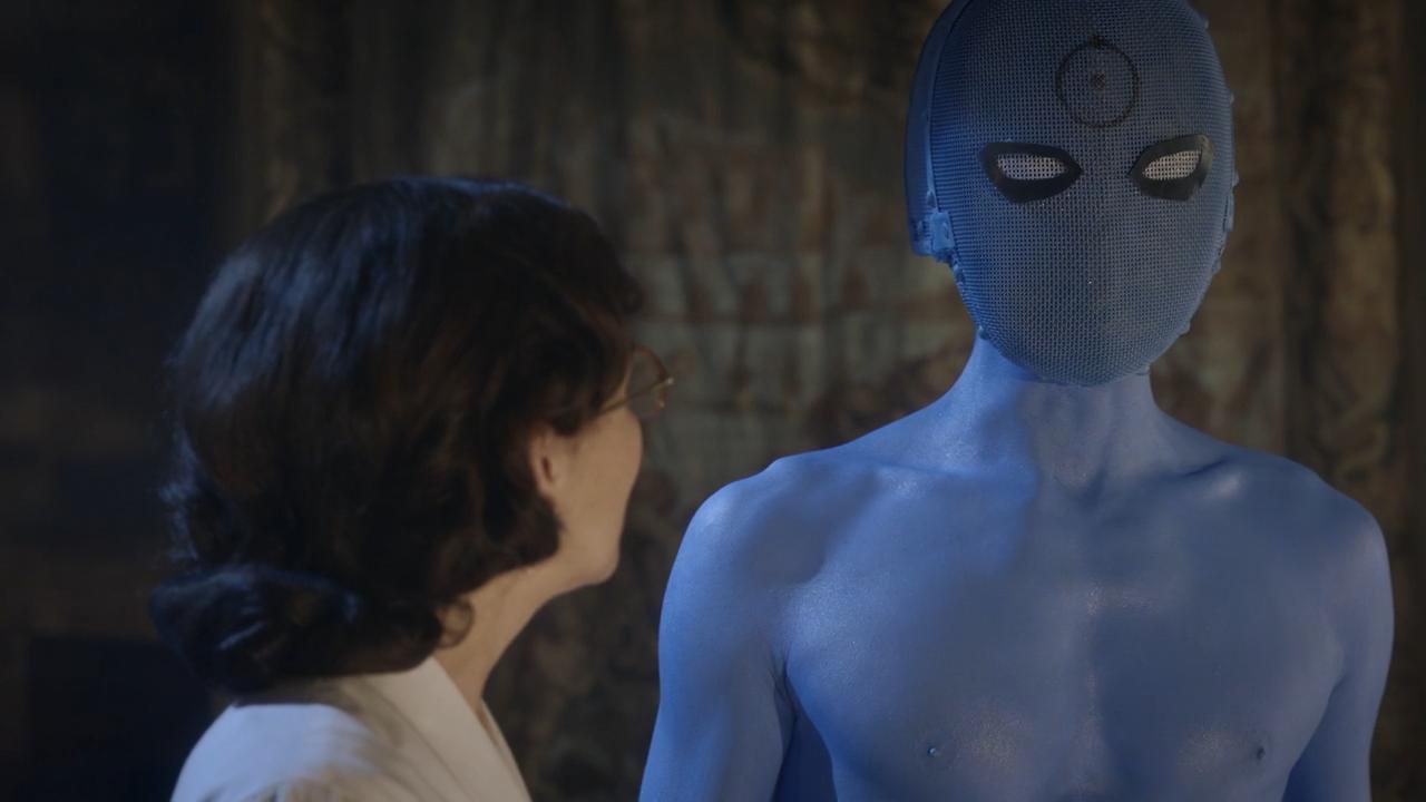 Watchmen Star Talks Doctor Manhattan Mega