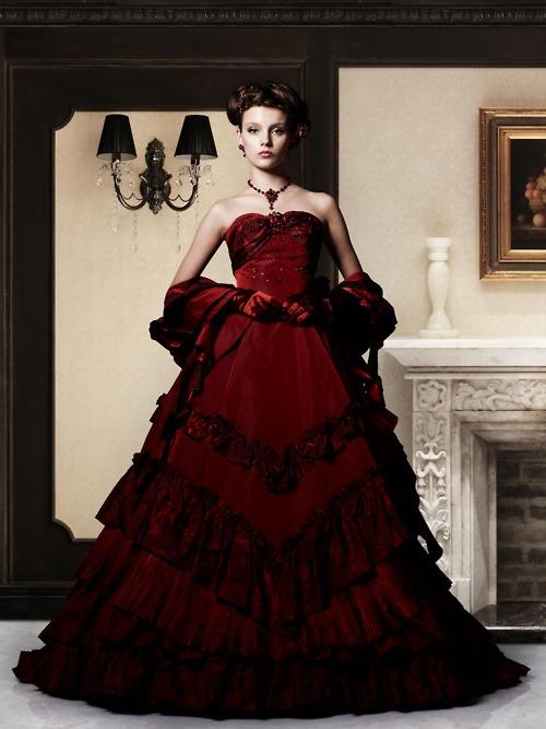 Red Wedding Gown: Takami Red Wedding DressWedding Dresses