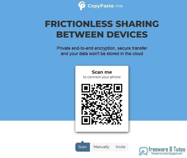 CopyPaste.me : le partage multi-plateformes malin et sécurisé