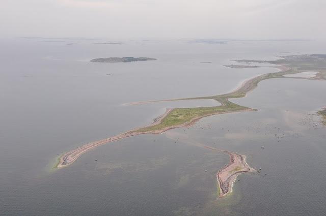 Ilmakuva saarista