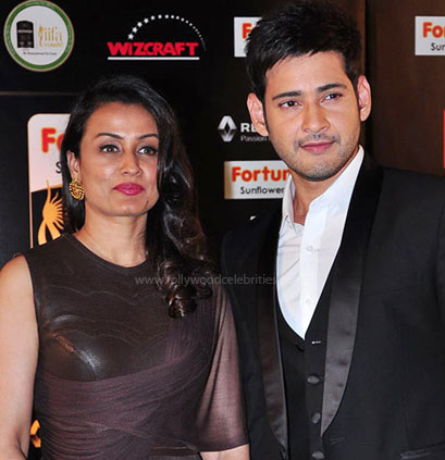 Mahesh Babu and his wife: