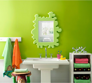 wonderful kids bathroom paint colour plus cute vanity vertical mirror mixed with cool free standing sink