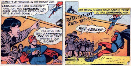 Lois Lane #65, Lexo is killed
