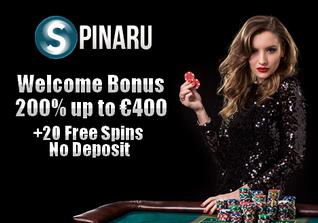 Spinaru no deposit bonus
